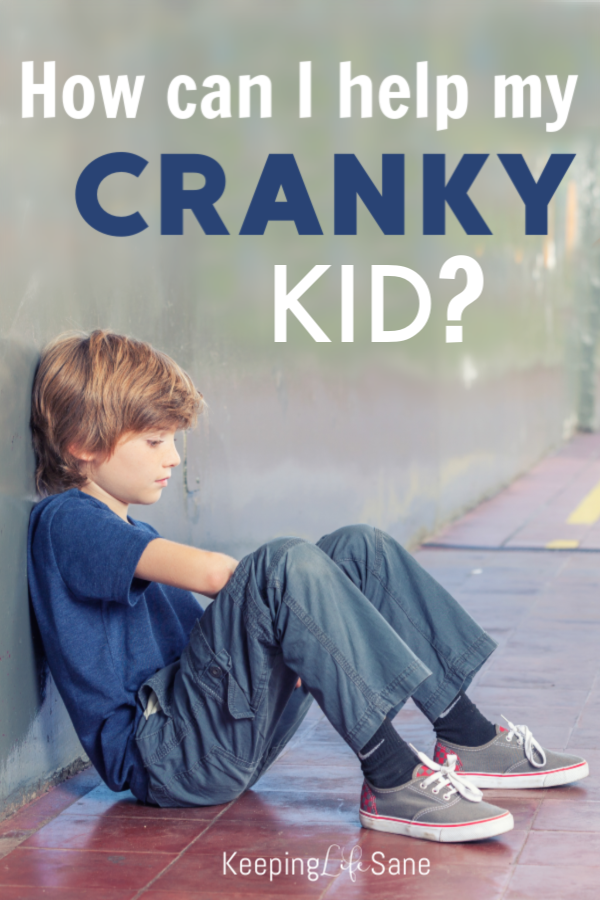 How do I help my cranky child? Well, try this one little trick and you can stop the crankiness! It really works and it's so easy!