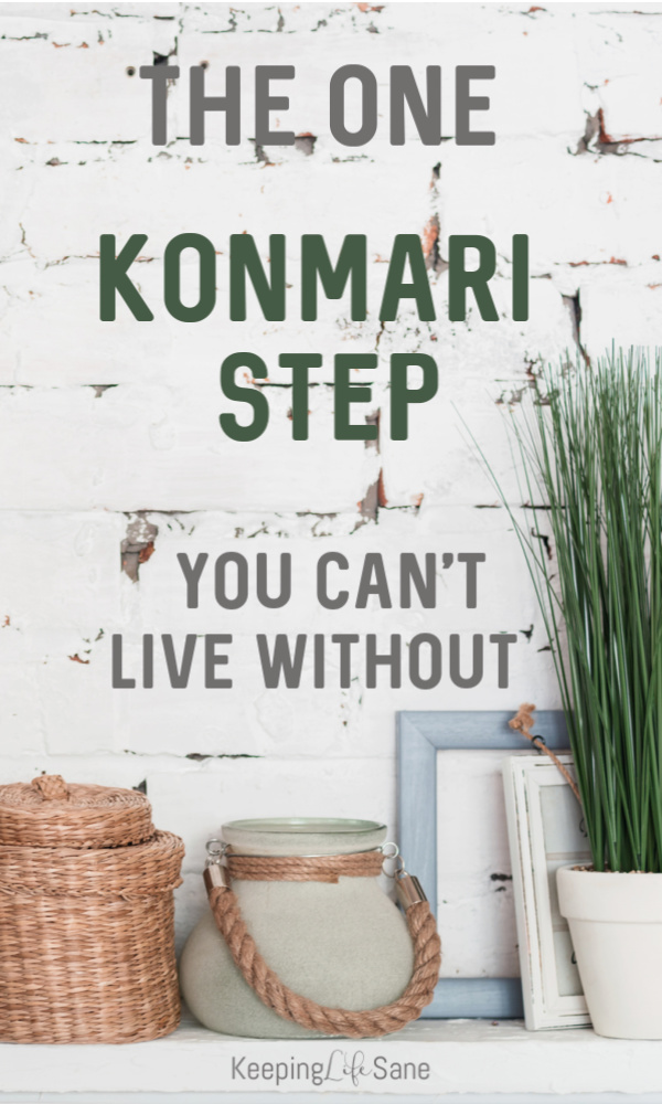 Debating if you should try the KonMari Method? Read about the one KonMari Method step you have to start today. It really does make a HUGE difference. #konmari #konmarimethod #decluttering #organizing #KonMariStep #MarieKondo