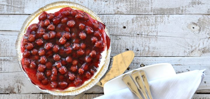 You are going to love this 6 ingredient Cherry-O-Cream Cheese Pie. It's so quick and easy to make and perfect for any celebration.
