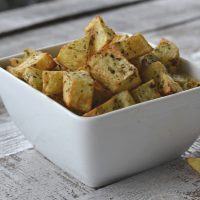 Air fryers are the best and this is the BEST homemade air fryer French fries on the Internet. You are going to love this three ingredient side dish.