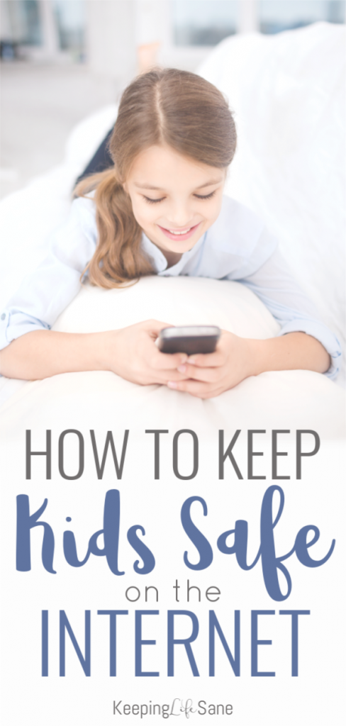 If your kids have their own devices, you need to keep a watchful eye over them! Check these tips out on how to keep kids safe on the Internet. #InternetSafety #SaferInternetDay #parenting #parentingtip