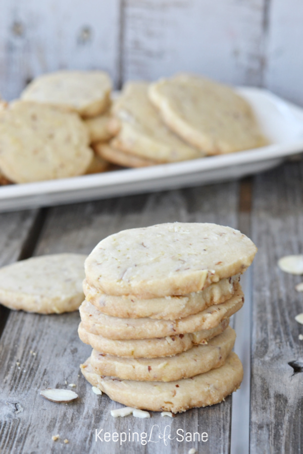 These eggless honey lime almond cookies are a great sweet treat for any special event or just a regular cookie to put in a lunch box. YUM!
