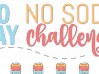 Do you feel like you are drinking too much soda? Try a 30 day no soda challenge and print out this tracker to keep you motivated.