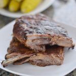 This sweet dry rub for pork ribs is the best grilling recipe of the summer. It makes the ribs so delicious and juicy AND it's SIMPLE!