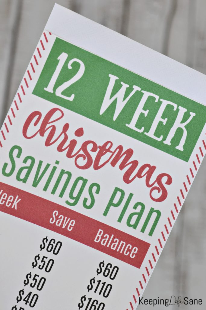 Start saving for Christmas now with this Christmas savings challenge so you don't have to worry about credit card bills in January. Save $600 in 12 weeks.
