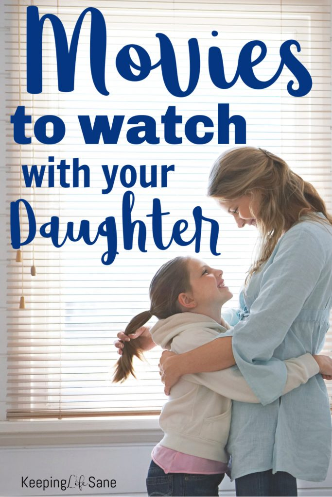 Looking to have a mother daughter movie night? Here's a FANTASTIC list of the best movies for girls that you can watch with your daughter.