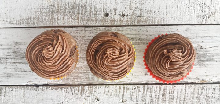 Everyone loves cupcakes! Make this easy chocolate buttercream frosting to go with them, so simple and delicious. You'll want to lick the bowl clean.