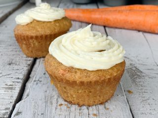 I know there's a lot of carrot cake recipes out there, but what about EGGLESS carrot cake cupcakes! Grab your bowls and mixer and get started on this yummy recipe.