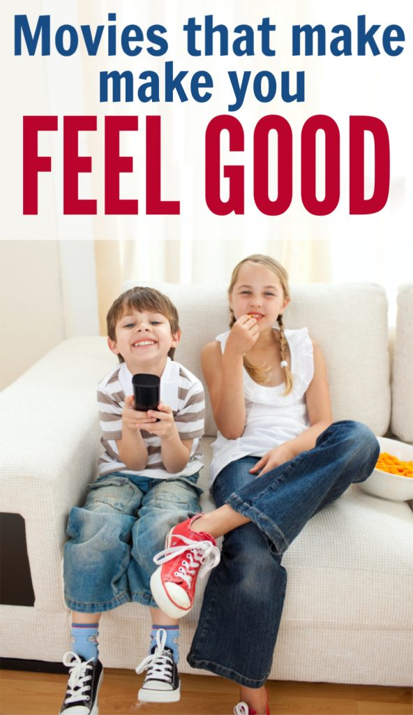 Here are some great movies to pick you up when you're feeling down. Check out these family movies that make you feel good!