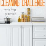 Don't get overwhelmed with all the cleaning you need to do. Print out this 30-Day cleaning challenge and you'll have it done in in no time!