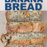 This is the perfect eggless banana bread when you have ripe bananas. Make sure to save this recipe so you can have it for breakfast, brunch or a snack.