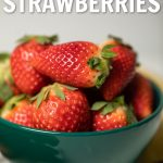 Are you looking for how to freeze strawberries? You're in the right spot. Freeze them the right way and you can have fresh strawberries all year long.