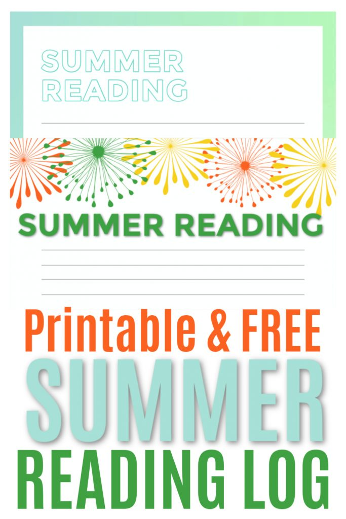 It's that time again…SUMMER READING! Here's a a couple of cute printable reading logs so your child and keep track of what they're reading this summer.