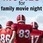 Here are over 25 sports movies for kids for a great family movie night. Some are old, new, funny, or inspiring, but you and your kids will love watching them together.