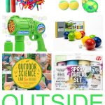 Here are some fun summer outside toys for your kids without spending a fortune! They're all under $20 and will keep your kids busy.