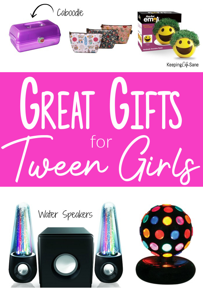 30 Great Gifts For Tween Girls Keeping Life Sane