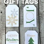 picture of 4 gift tags