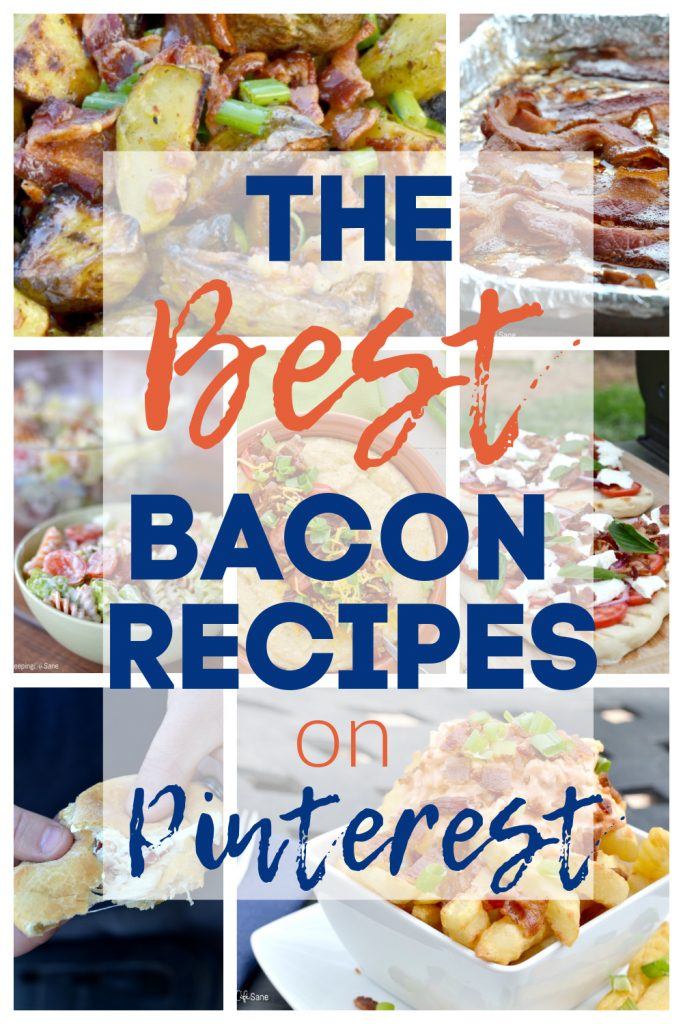bunch of recipes that have bacon