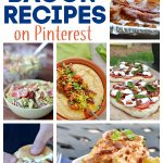 bunch of recipes with bacon, grits, pasta salad, bacon bomb,grilled pizza, bacon