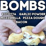 Warm and Gooey Bacon Bombs for an Easy Appetizer