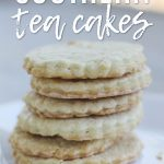 stack of six southern tea cakes